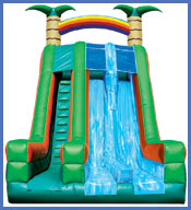Inflatable Tropical Slide