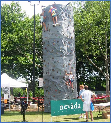 Mobile Rock Climbing Wall Rentals Specializing in Mobile